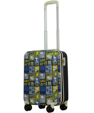 SNOOPY PEANUTS Friends スヌーピー プリント スーツケース S 小型 TSAロック 超軽量 4輪キャスター 機内持込可