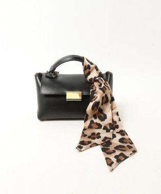 《LE VERNIS》《2WAY》スカーフ付きマイクロミニバッグ