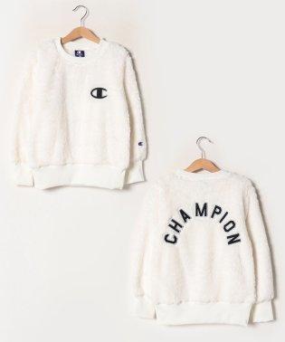 【Champion】ボアフリースクルーネックシャツ