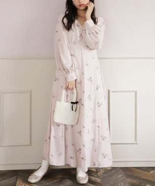 【one after another】Motohashi flower one-piece