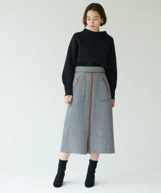 SMF チェックWO パイピングスカート