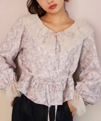 【one after another】Ando flower blouse