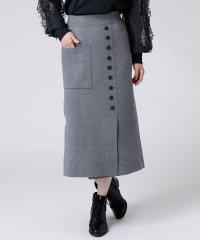 [radiate the lifedress]フロントボタン ニットスカート