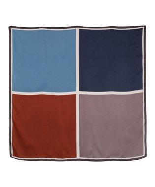 カラーコントラストスカーフ