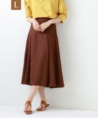 【L】【ウォッシャブル】トリアセスラブスカート