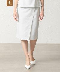 【L】【セットアップ対応】【美skirt】【UV対策】【ウォッシャブル】プライムフレックスコードレーンスカート