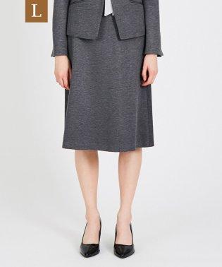【L】【セットアップ対応】【美Skirt】ストレッチポンチスカート