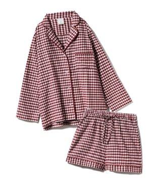【セットアップ】ネルチェックシャツ&ショートパンツSET