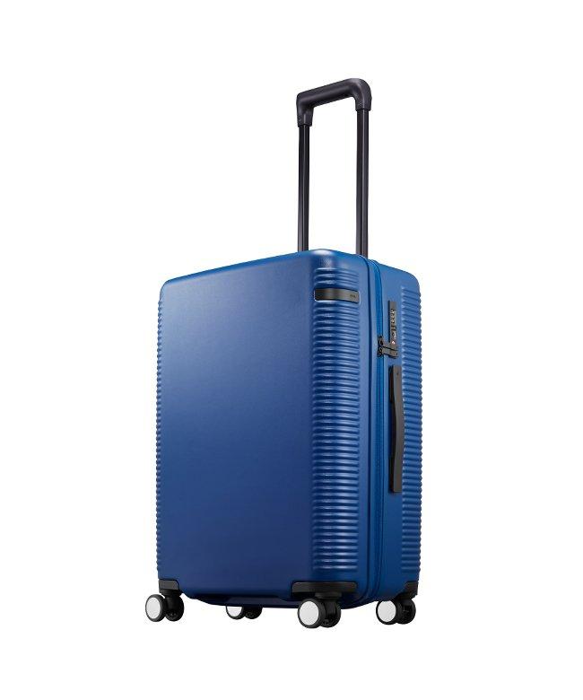 (ace. TOKYO/トーキョーレーベル)エース ウォッシュボードZ スーツケース 軽量 ストッパー ダイヤルロック 60L Mサイズ ace. TOKYO 04066/ユニセックス ネイビー