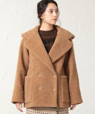 ◆◆ショート丈ファーウールコート