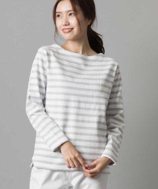 【OMNES】バスク生地 長袖Tシャツ