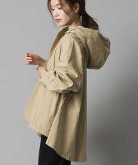 【OMNES】ダンプ 裾フレア マウンテンジャケット