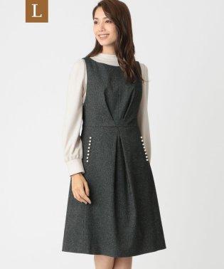 【L】ミニへリンボンドレス