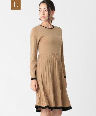 【L】キャッシュウールニットドレス