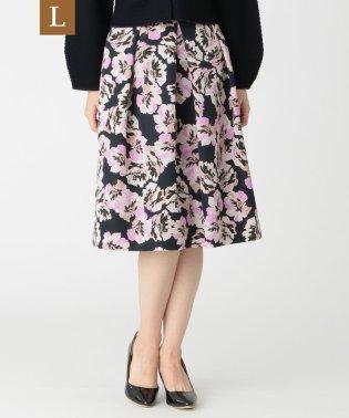 【L】フラワープリントスカート