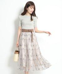 【美人百花12月号掲載】コードチュールレーススカート