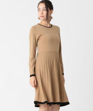 キャッシュウールニットドレス
