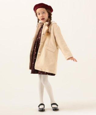 SHIPS KIDS:エコファー カラー コート(100~130cm)
