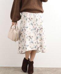 【EASY CARE】イレヘムフラワースカート