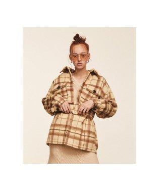 中綿インナーシャツジャケット