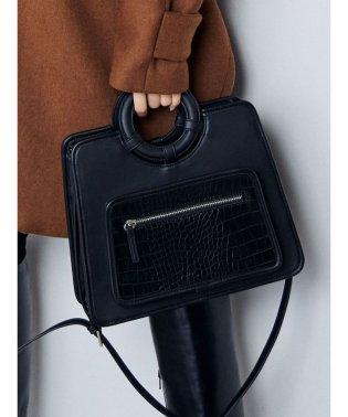 ワイドハンドルバッグ