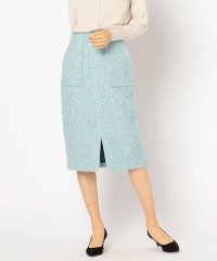 ループへリンボンツイードタイトスカート