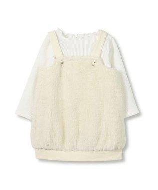 ボアジャンパースカートセット商品(70~80cm)