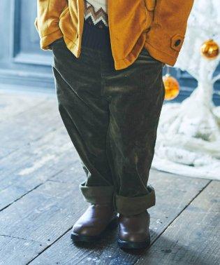 コーデュロイワイドパンツ(90~150cm)