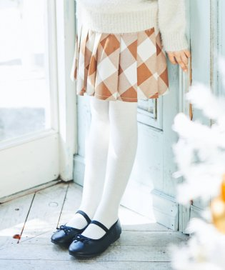 チェック柄プリーツスカート(S~XL)