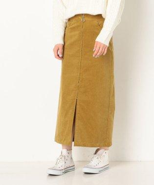 A-コーデュロイフープジップスカート