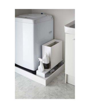 伸縮洗濯機排水口上ラック タワー ホワイト