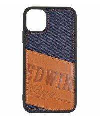 EDWIN[パッチワークデニム]背面ケース iPhone11