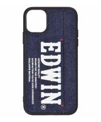 EDWIN[プリントデニム]背面ケース iPhone11
