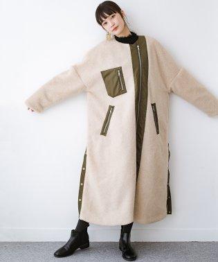 F/CE.(エフシーイー) BOA SUPER LONG COAT