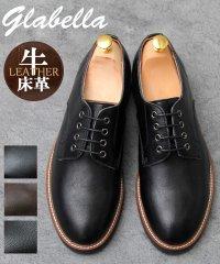 【glabella/グラベラ】牛床革/スプリットレザーオックスフォードシューズ
