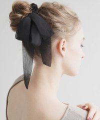 Chiffon Wreath Hair Rubber