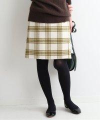 Wフェイスミニ丈スカート◆