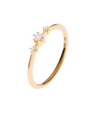 ダイヤモンド しのぎ6本爪 サイドメレーリング