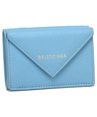 バレンシアガ 財布 BALENCIAGA 391446 DLQ0N 4804 PAPER MINI WALLET ペーパー ミニ ウォレット ミニ財布 レディー