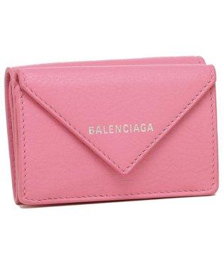バレンシアガ 財布 BALENCIAGA 391446 DLQ0N 6740 PAPER MINI WALLET ペーパー ミニ ウォレット ミニ財布 レディー