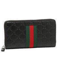 グッチ 財布 GUCCI 408831 CWCLN 1060 NEW WEB GUCCI SIGNATURE ZIP AROUND WALLET メンズ 長財布
