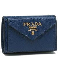 プラダ 財布 PRADA 1MH021 QWA F0016 SAFFIANO METAL ORO サフィアーノ マルチカラー ミニ財布 レディース 三つ折り財布