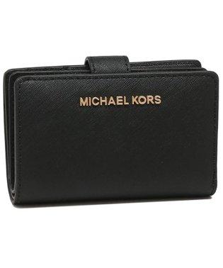 マイケルコース 折財布 アウトレット レディース MICHAEL KORS 35T9RTVF2L BLACK ブラック