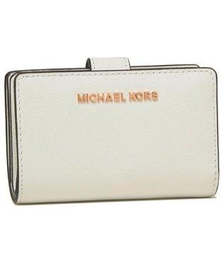 マイケルコース 折財布 アウトレット レディース MICHAEL KORS 35T9RTVF2L OPTIC WHITE ホワイト