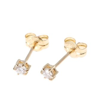 K18ダイヤモンド 6本爪 スタッドピアス