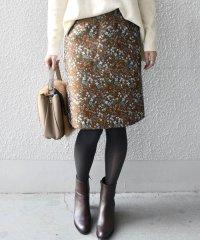 Khaju:フラワージャガードスカート