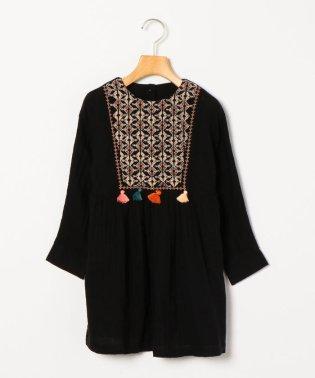 Bonheur du Jour:EMBROIDERED DRESS MARGOT(100~120cm)