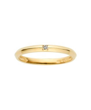 K10イエローゴールド ダイヤモンド ペアリング