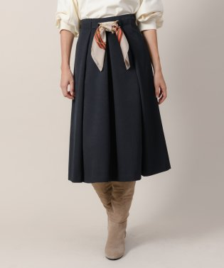 ウールライクマルチWAYフレアスカート