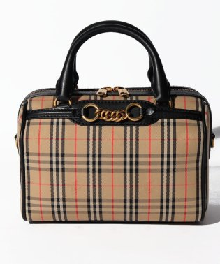 【Burberry】Small 1983 Check Link Bowling Bag